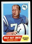 1968 Topps #22  Billy Ray Smith  Front Thumbnail