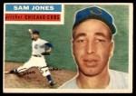 1956 Topps #259  Sam Jones  Front Thumbnail