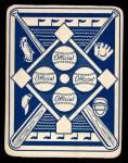 1951 Topps Blue Back #5  Johnny Pesky  Back Thumbnail