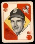 1951 Topps Blue Back #5  Johnny Pesky  Front Thumbnail