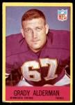 1967 Philadelphia #98  Grady Alderman  Front Thumbnail
