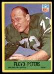 1967 Philadelphia #139  Floyd Peters  Front Thumbnail