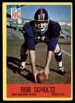 1967 Philadelphia #129  Bob Scholtz  Front Thumbnail