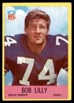1967 Philadelphia #55  Bob Lilly  Front Thumbnail