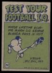 1972 Topps #262   -  Ray May Pro Action Back Thumbnail