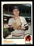 1973 Topps #385  Jim Perry  Front Thumbnail