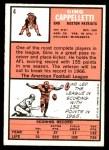 1966 Topps #4  Gino Cappelletti  Back Thumbnail