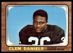 1966 Topps #107  Clem Daniels  Front Thumbnail