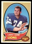 1970 Topps #149  Larry Hand  Front Thumbnail