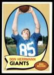 1970 Topps #153  Don Herrmann  Front Thumbnail