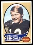 1970 Topps #235  Greg Cook  Front Thumbnail
