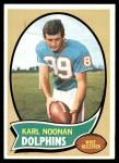 1970 Topps #223  Karl Noonan  Front Thumbnail