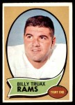 1970 Topps #18  Billy Truax  Front Thumbnail