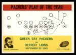 1964 Philadelphia #84   -  Vince Lombardi  Packers Play of the Year Front Thumbnail