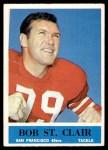 1964 Philadelphia #164  Bob St. Clair  Front Thumbnail