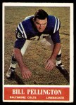 1964 Philadelphia #9  Bill Pellington   Front Thumbnail