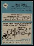 1964 Philadelphia #130  Mike Clark  Back Thumbnail
