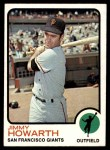 1973 Topps #459  Jimmy Howarth  Front Thumbnail
