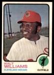 1973 Topps #297  Walt Williams  Front Thumbnail