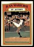 1972 Topps #568   -  Juan Marichal In Action Front Thumbnail