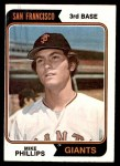 1974 Topps #533  Mike Phillips  Front Thumbnail