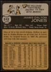 1973 Topps #512  Dalton Jones  Back Thumbnail