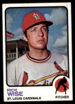 1973 Topps #364  Rick Wise  Front Thumbnail