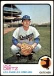 1973 Topps #442  Dick Dietz  Front Thumbnail