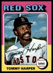 1975 Topps #537  Tommy Harper  Front Thumbnail