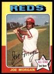 1975 Topps #180  Joe Morgan  Front Thumbnail