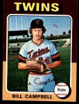 1975 Topps #226  Bill Campbell  Front Thumbnail