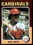 1975 Topps #27  Ken Reitz  Front Thumbnail