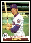 1979 Topps #545  John Stearns  Front Thumbnail