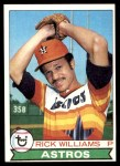 1979 Topps #437  Rick Williams  Front Thumbnail