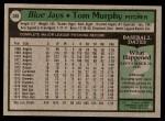 1979 Topps #588  Tom Murphy  Back Thumbnail