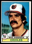 1979 Topps #102  Mike Anderson  Front Thumbnail