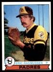 1979 Topps #57  Eric Rasmussen  Front Thumbnail