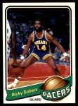 1979 Topps #71  Ricky Sobers  Front Thumbnail