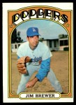1972 Topps #151  Jim Brewer  Front Thumbnail