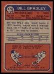 1973 Topps #170  Bill Bradley  Back Thumbnail