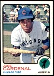 1973 Topps #393  Jose Cardenal  Front Thumbnail