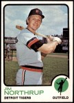 1973 Topps #168  Jim Northrup  Front Thumbnail