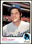 1973 Topps #239  Pete Richert  Front Thumbnail