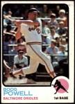 1973 Topps #325  Boog Powell  Front Thumbnail