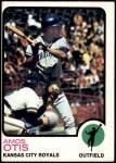 1973 Topps #510  Amos Otis  Front Thumbnail