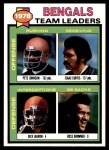 1979 Topps #94   Bengals Leaders Checklist Front Thumbnail