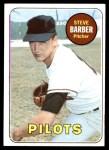 1969 Topps #233 xMUD Steve Barber  Front Thumbnail
