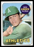 1969 Topps #515  Dick Green  Front Thumbnail