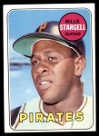 1969 Topps #545  Willie Stargell  Front Thumbnail