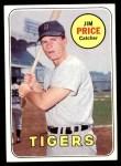 1969 Topps #472  Jim Price  Front Thumbnail